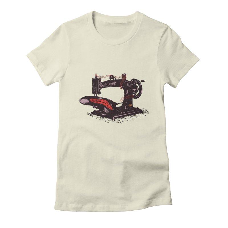 Sew Women's T-Shirt by micronisus's Artist Shop