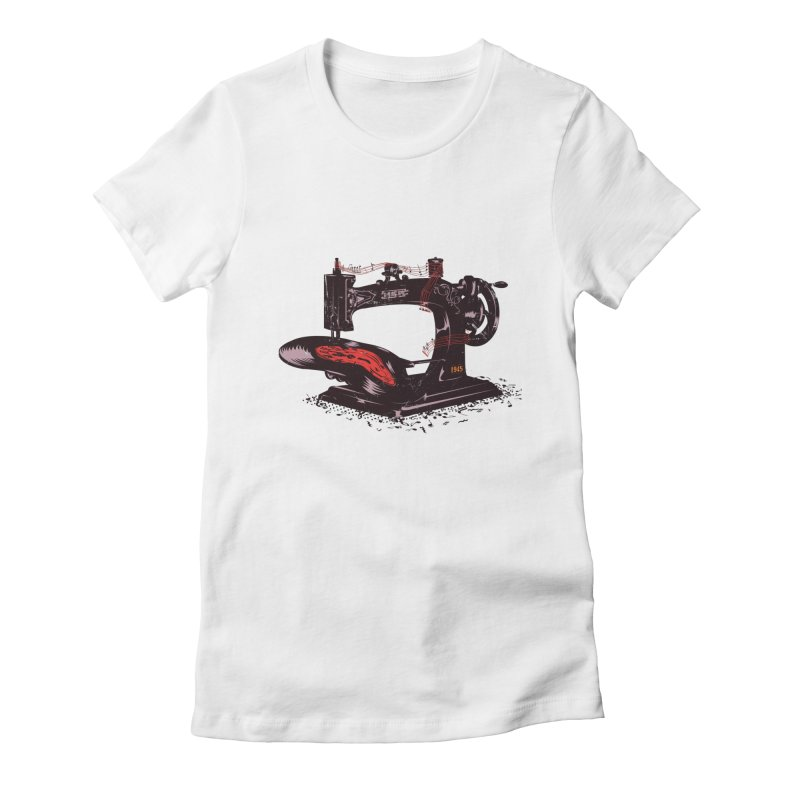 Sew Women's T-Shirt by micronisus's Artist Shop