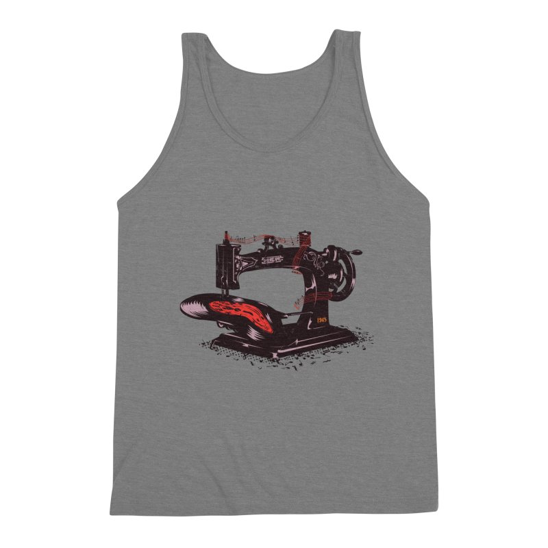 Sew Men's Tank by micronisus's Artist Shop