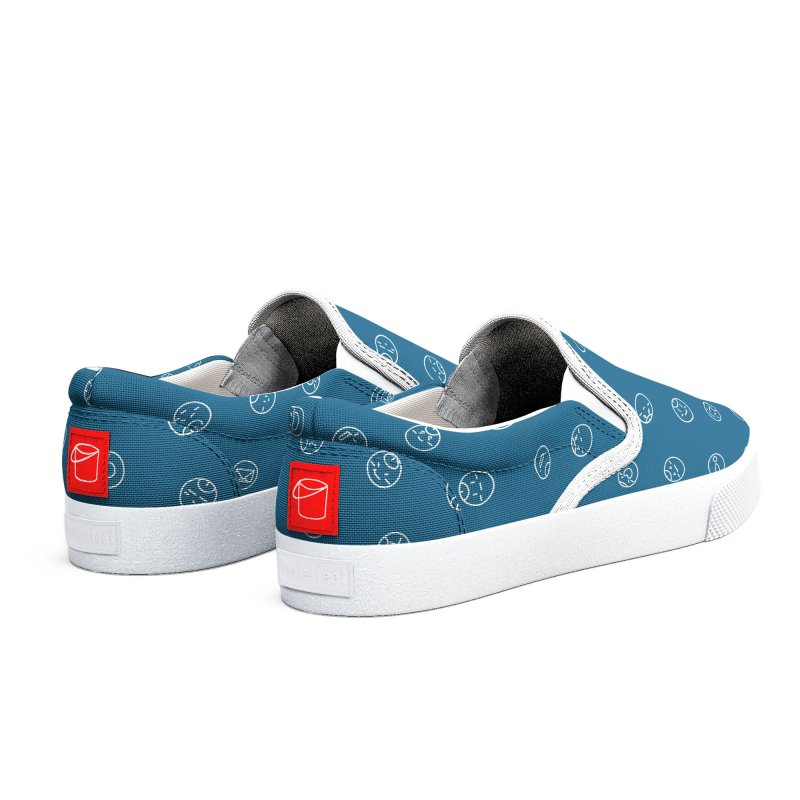 TuringBlue Men's Shoes by MidBoss Shop