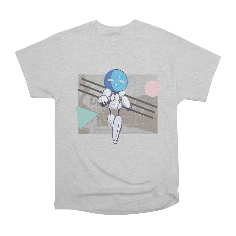 Turing Shirt Men's Heavyweight T-Shirt by MidBoss Shop
