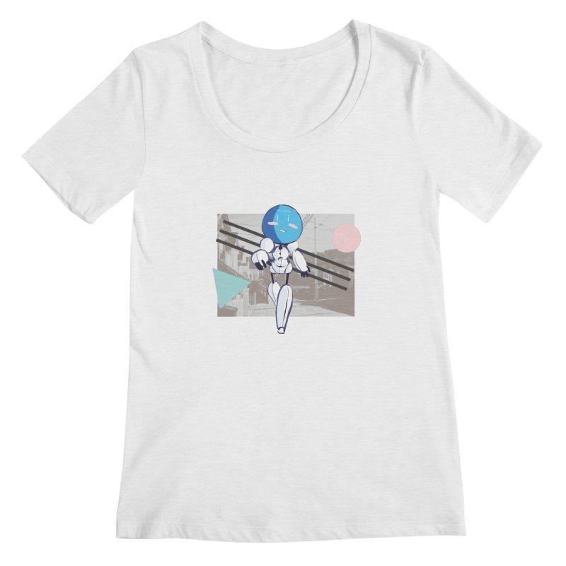 Turing Shirt Women's Regular Scoop Neck by MidBoss Shop