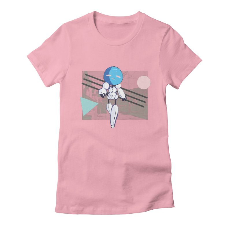 Turing Shirt Women's Fitted T-Shirt by MidBoss Shop