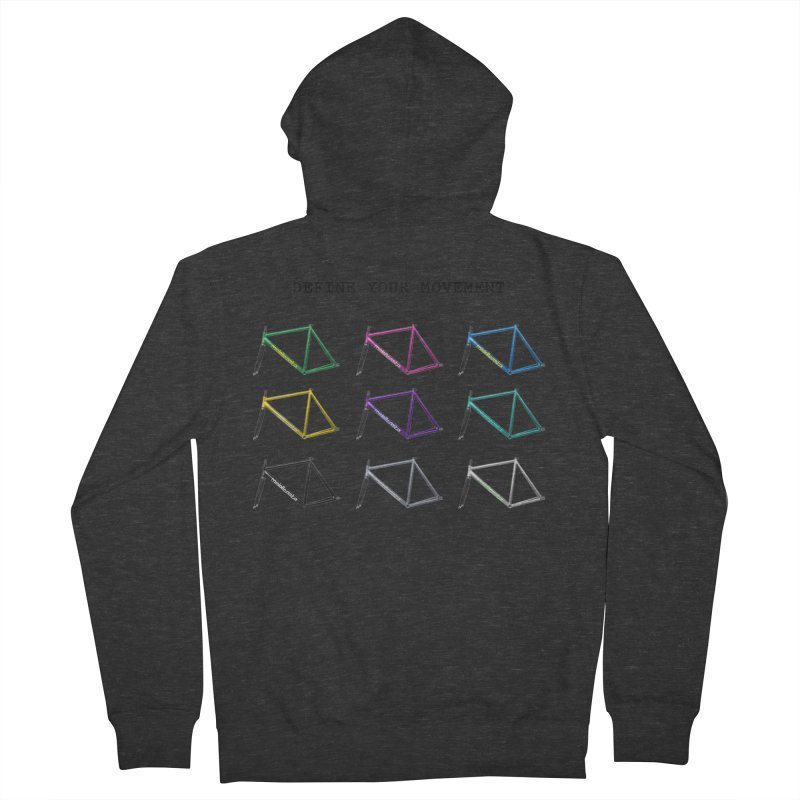 middleasta DEFINE YOUR MOVEMENT T Women's Zip-Up Hoody by middleasta's Gift Shop