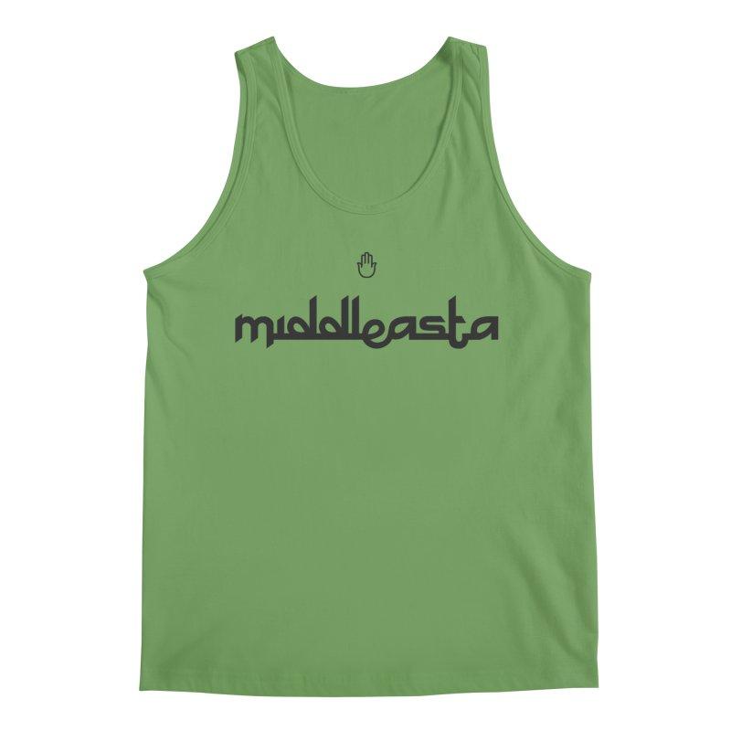 middleasta Logo T Men's Tank by middleasta's Gift Shop