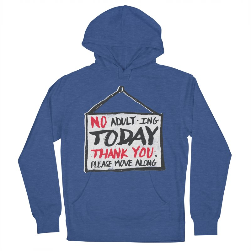 No Thank You Women's French Terry Pullover Hoody by MidnightCoffee