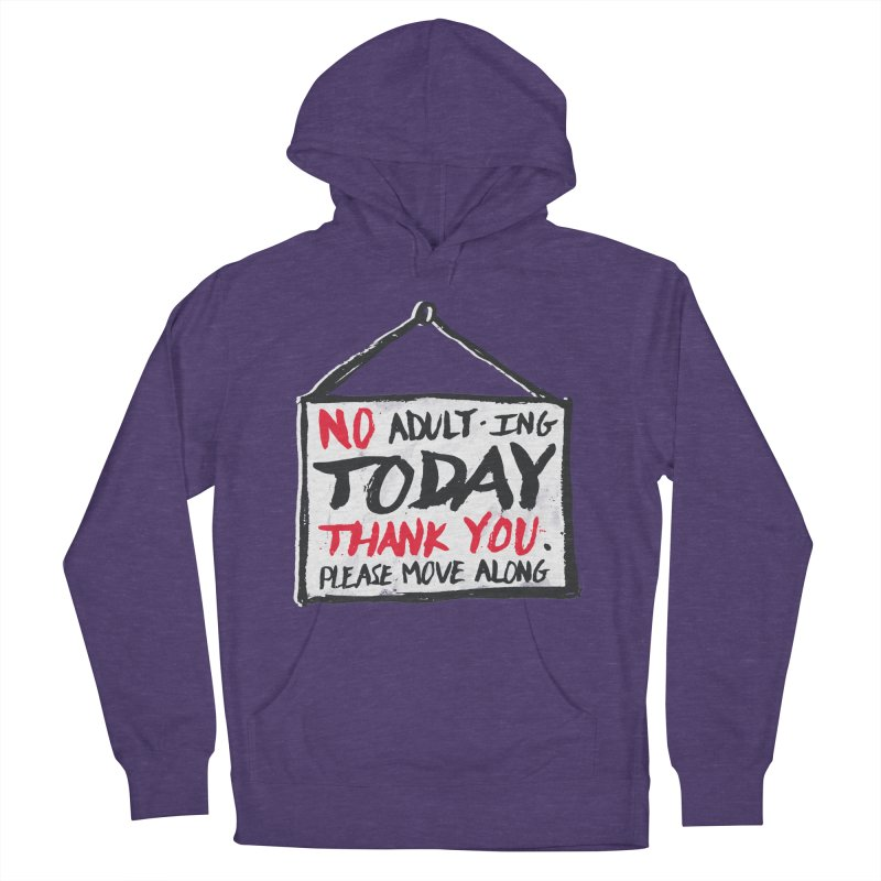 No Thank You Men's Pullover Hoody by MidnightCoffee