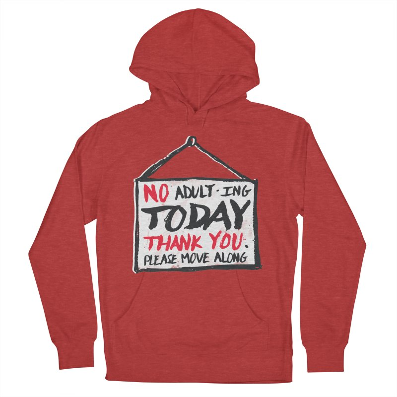 No Thank You Men's French Terry Pullover Hoody by MidnightCoffee