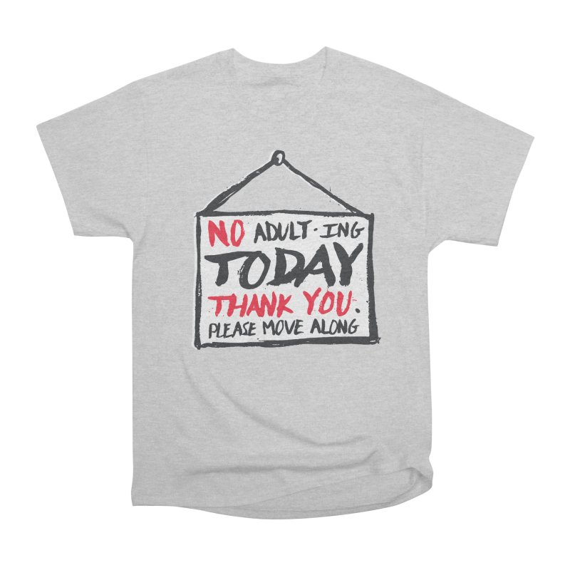 No Thank You Men's Classic T-Shirt by MidnightCoffee