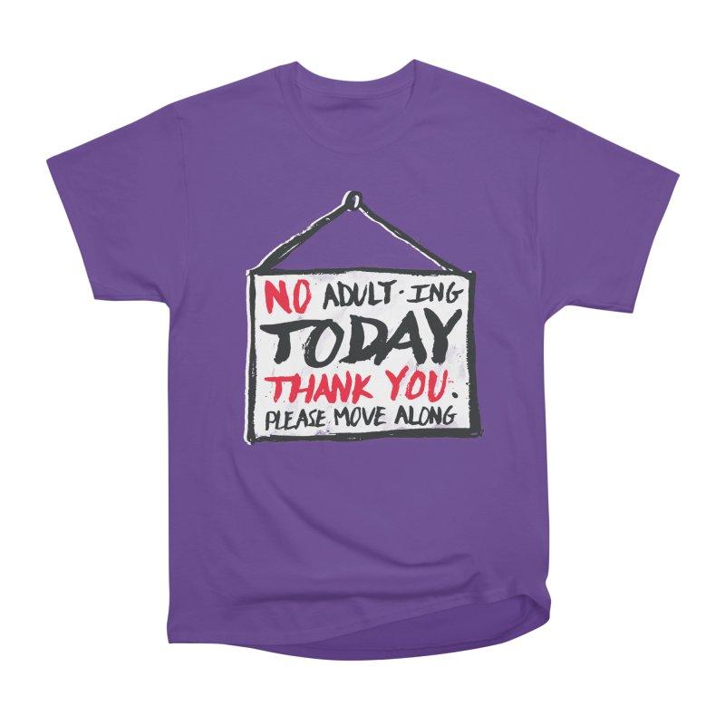 No Thank You Men's Heavyweight T-Shirt by MidnightCoffee