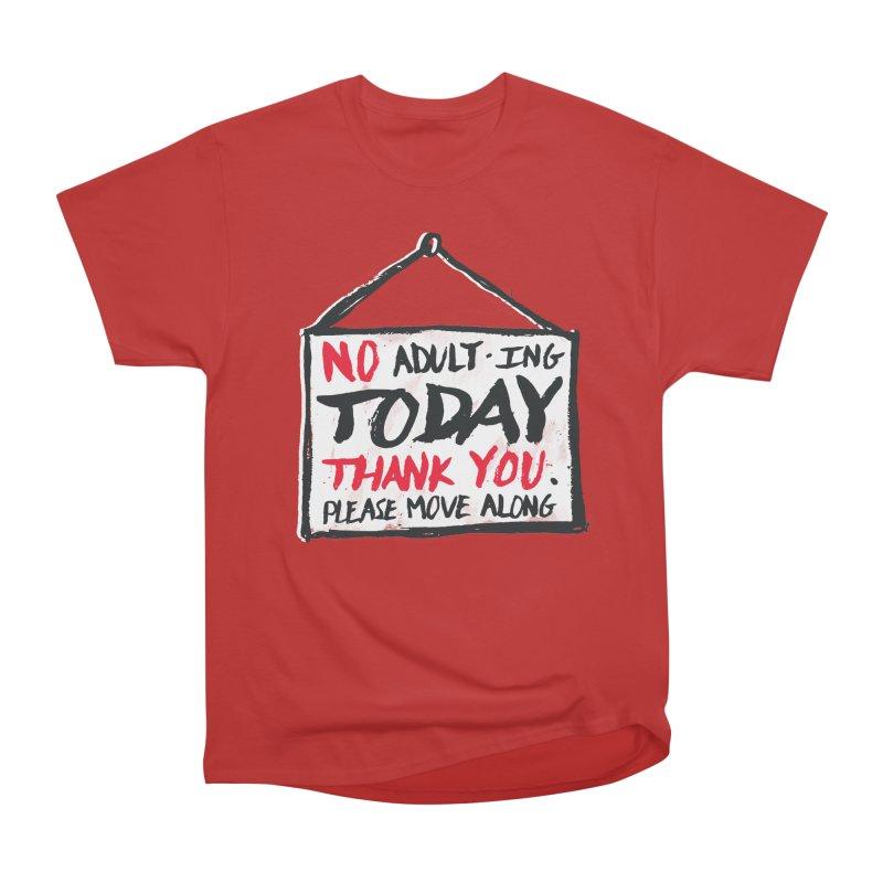 No Thank You Women's Classic Unisex T-Shirt by MidnightCoffee