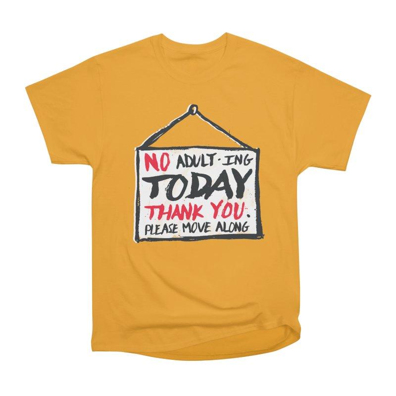 No Thank You Men's Classic T-Shirt by MidnightCoffee