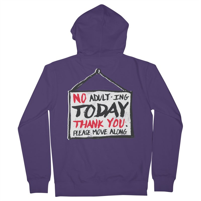 No Thank You Women's Zip-Up Hoody by MidnightCoffee