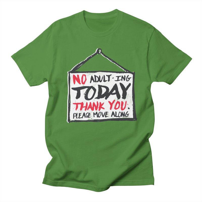 No Thank You Men's T-shirt by MidnightCoffee