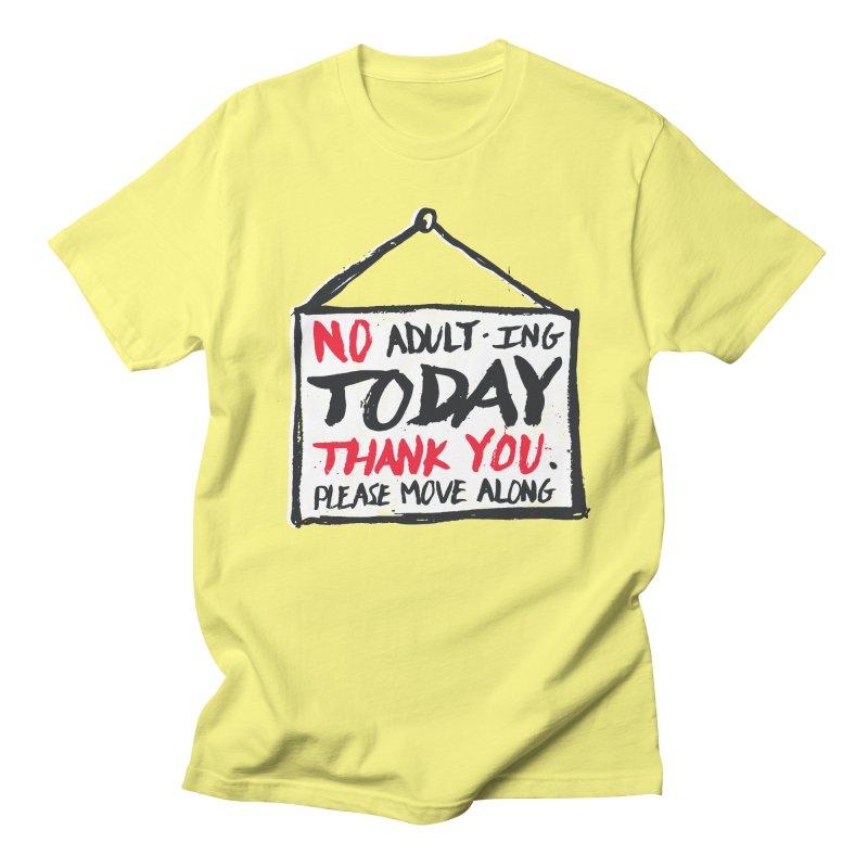 No Thank You Women's Unisex T-Shirt by MidnightCoffee