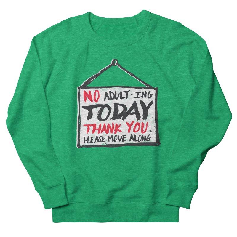 No Thank You Women's Sweatshirt by MidnightCoffee