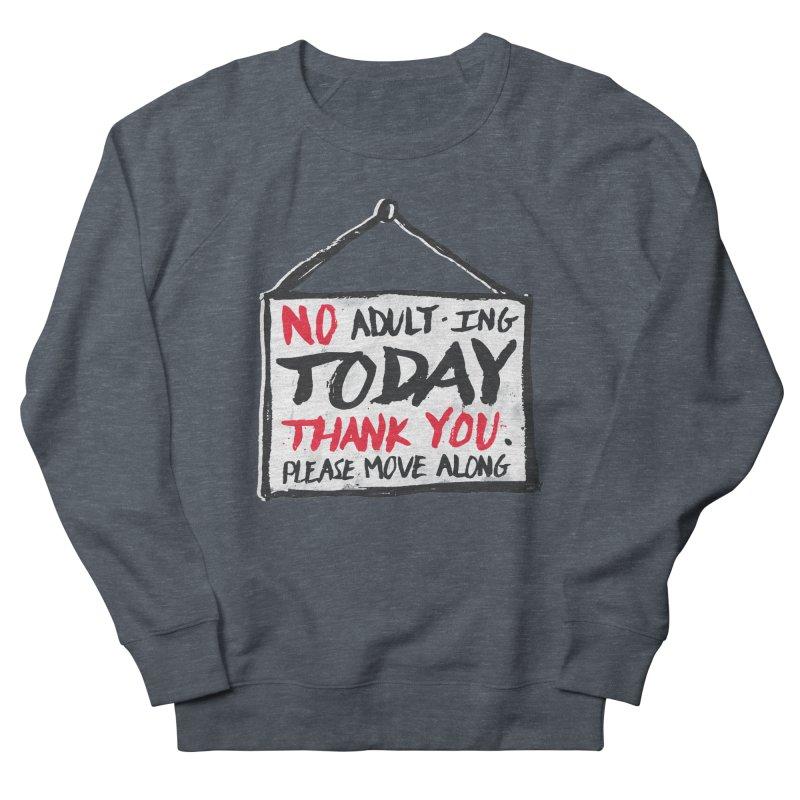 No Thank You Men's Sweatshirt by MidnightCoffee