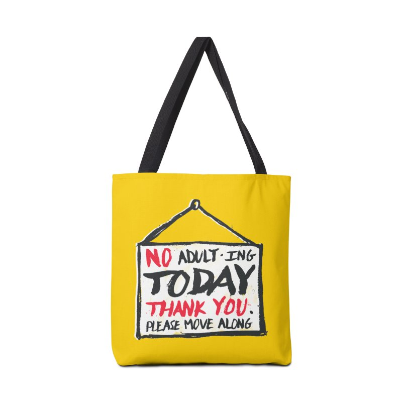 No Thank You Accessories Bag by MidnightCoffee