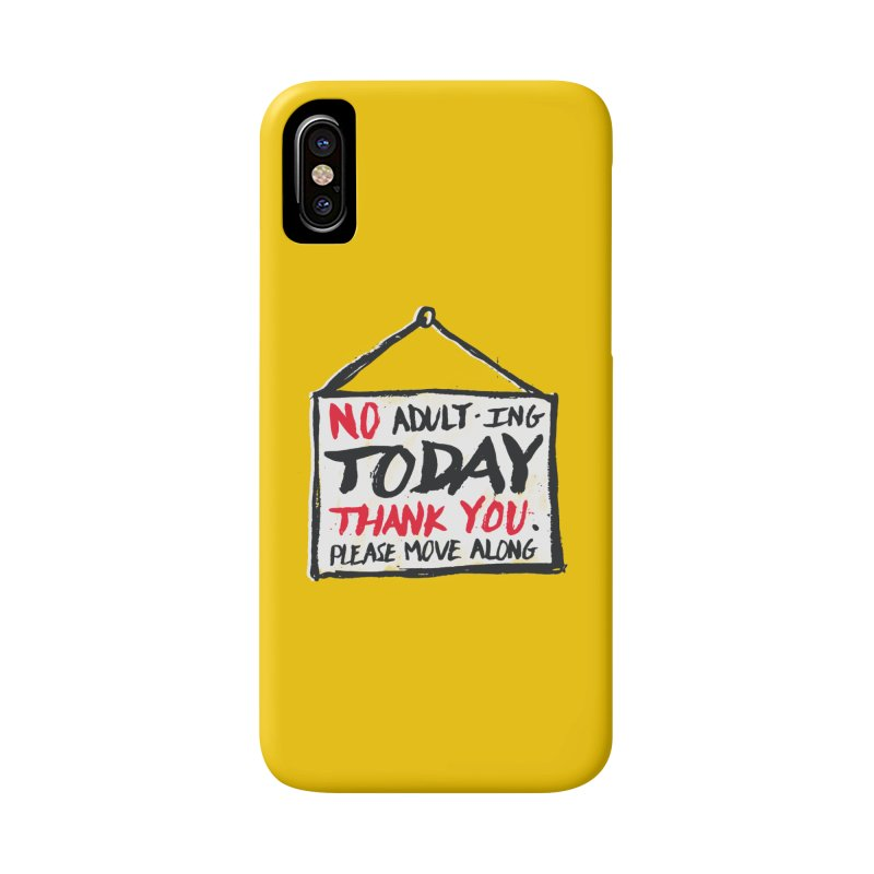 No Thank You Accessories Phone Case by MidnightCoffee