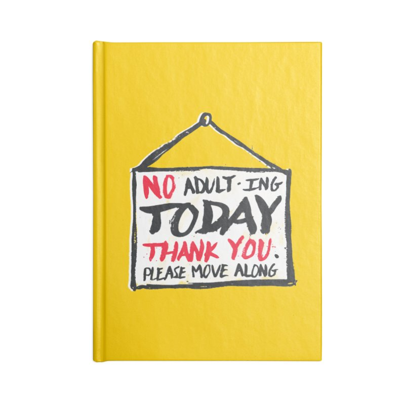 No Thank You Accessories Notebook by MidnightCoffee