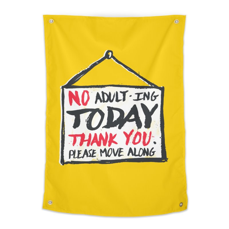 No Thank You Home Tapestry by MidnightCoffee