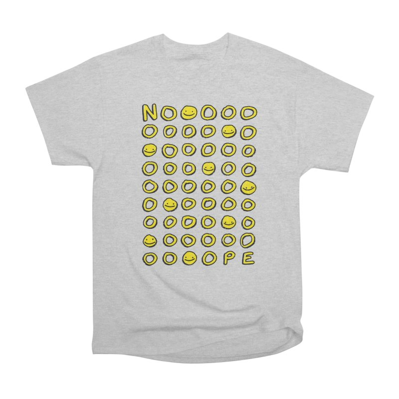 Say It With A Smile Men's Heavyweight T-Shirt by MidnightCoffee
