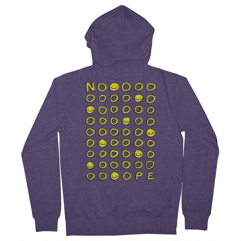 Say It With A Smile Men's Zip-Up Hoody by MidnightCoffee