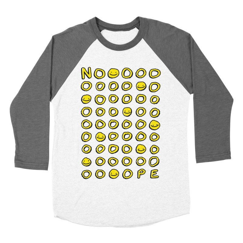 Say It With A Smile Men's Baseball Triblend T-Shirt by MidnightCoffee