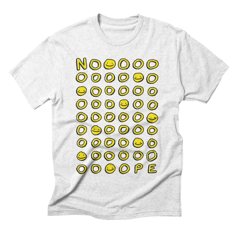 Say It With A Smile Men's Triblend T-shirt by MidnightCoffee