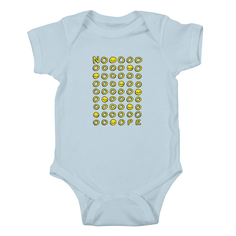 Say It With A Smile Kids Baby Bodysuit by MidnightCoffee