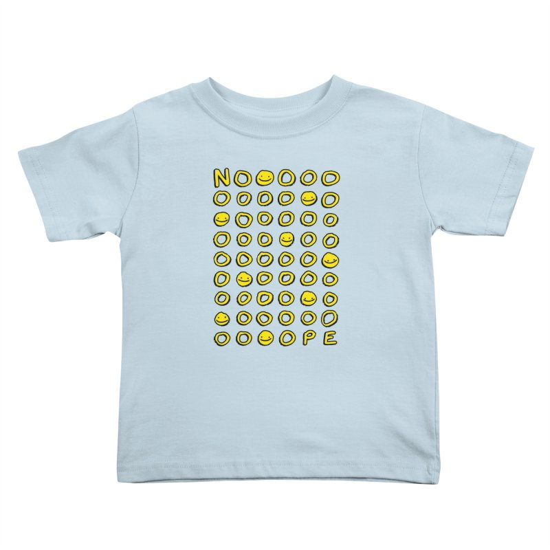 Say It With A Smile Kids Toddler T-Shirt by MidnightCoffee