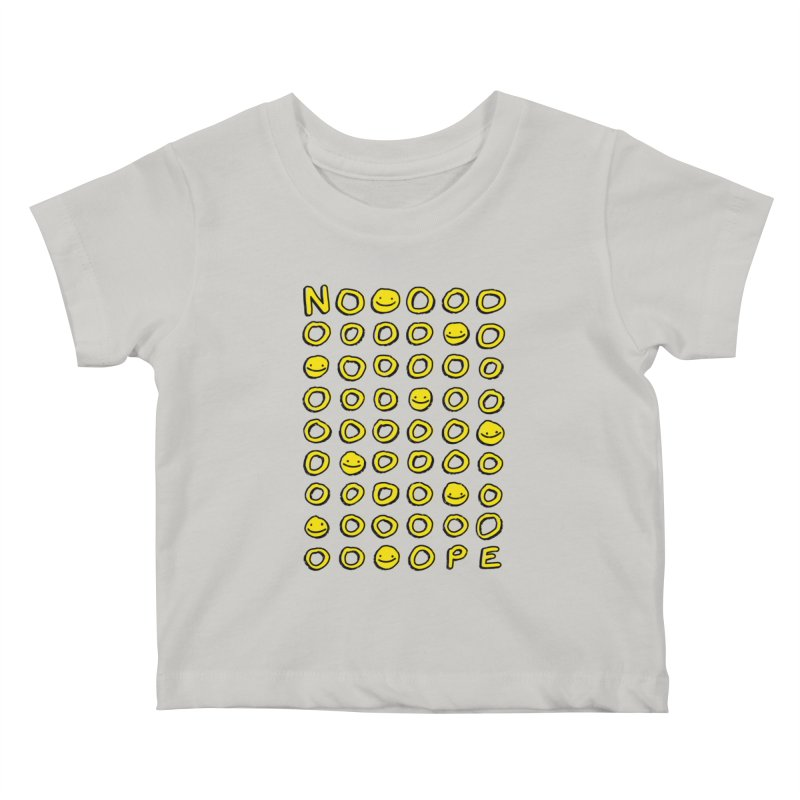Say It With A Smile Kids Baby T-Shirt by MidnightCoffee