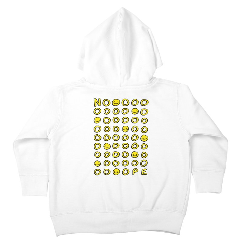 Say It With A Smile Kids Toddler Zip-Up Hoody by MidnightCoffee