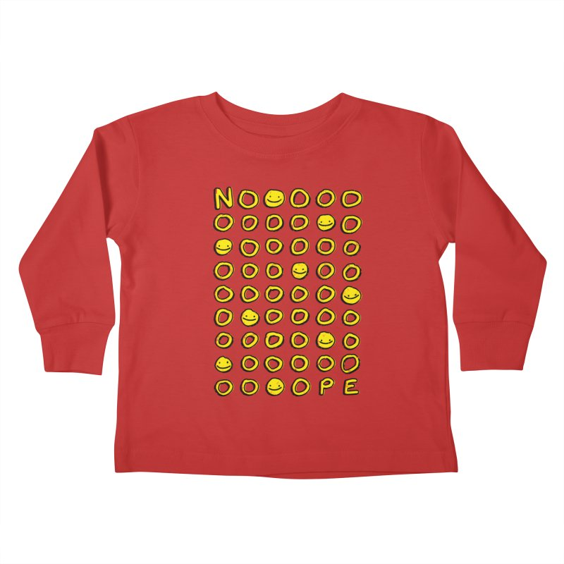 Say It With A Smile Kids Toddler Longsleeve T-Shirt by MidnightCoffee