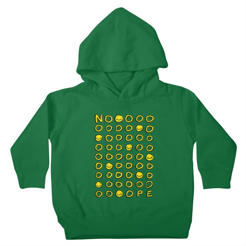 Say It With A Smile Kids Toddler Pullover Hoody by MidnightCoffee