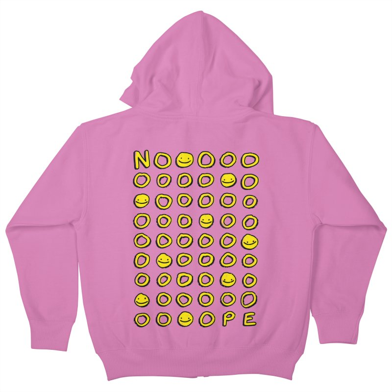 Say It With A Smile Kids Zip-Up Hoody by MidnightCoffee