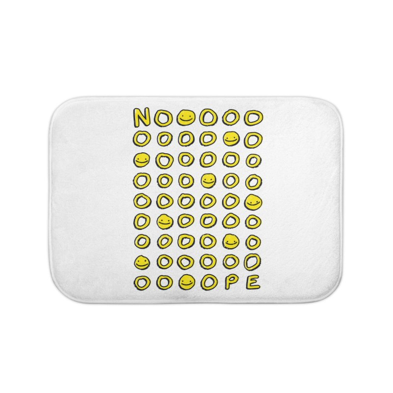 Say It With A Smile Home Bath Mat by MidnightCoffee