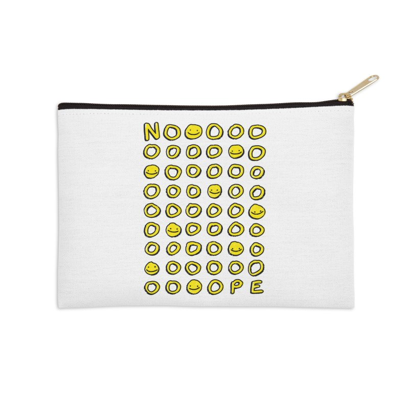 Say It With A Smile Accessories Zip Pouch by MidnightCoffee