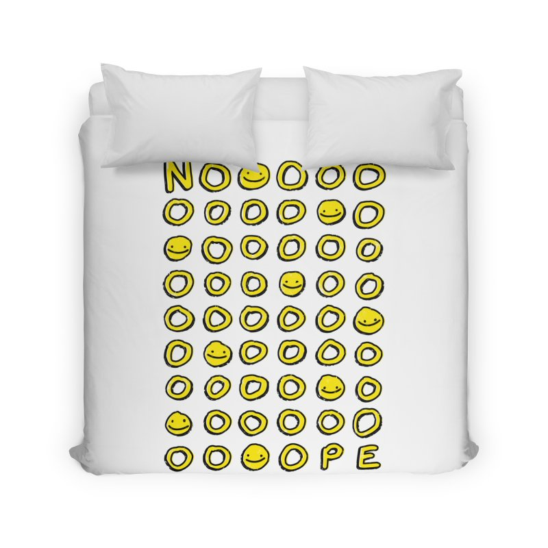 Say It With A Smile Home Duvet by MidnightCoffee