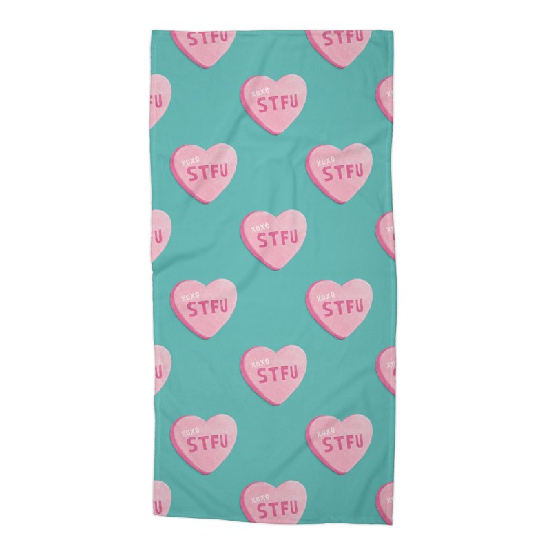 Sweetheart Accessories Beach Towel by MidnightCoffee