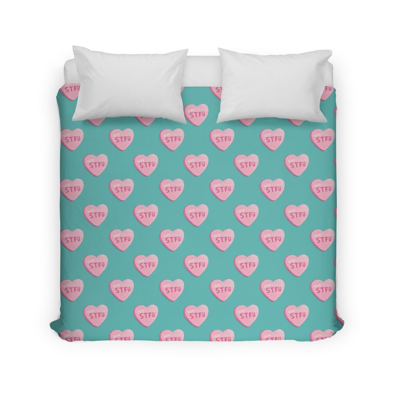 Sweetheart Home Duvet by MidnightCoffee