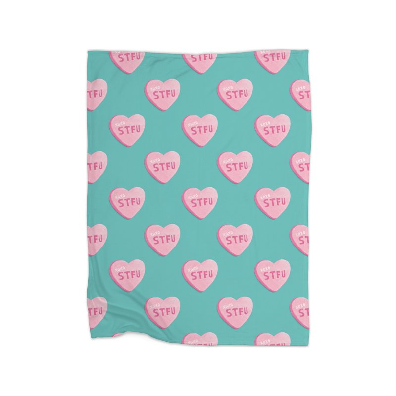 Sweetheart Home Blanket by MidnightCoffee
