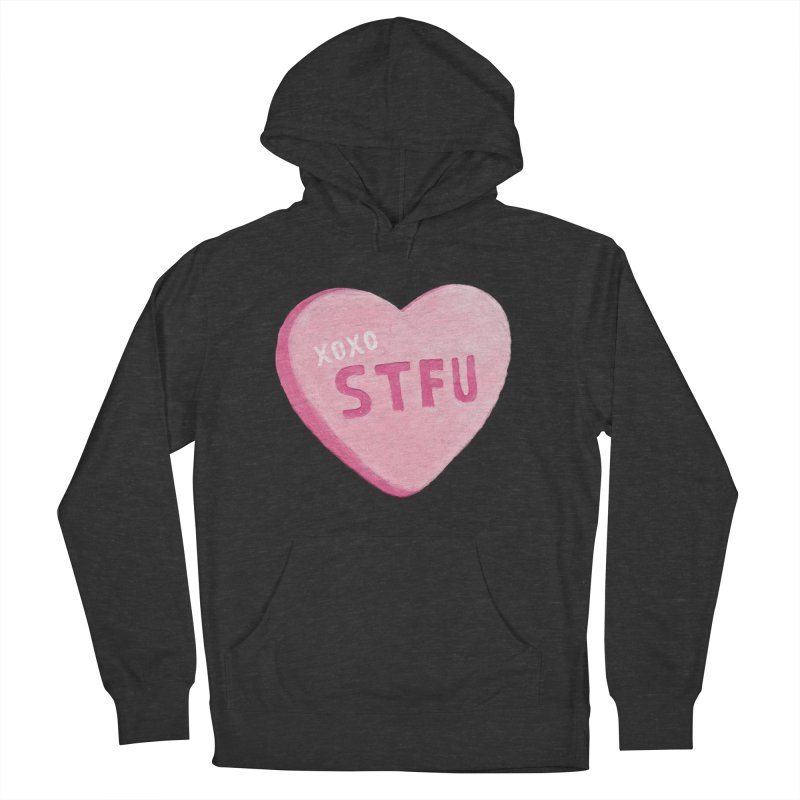 Sweetheart Women's French Terry Pullover Hoody by MidnightCoffee