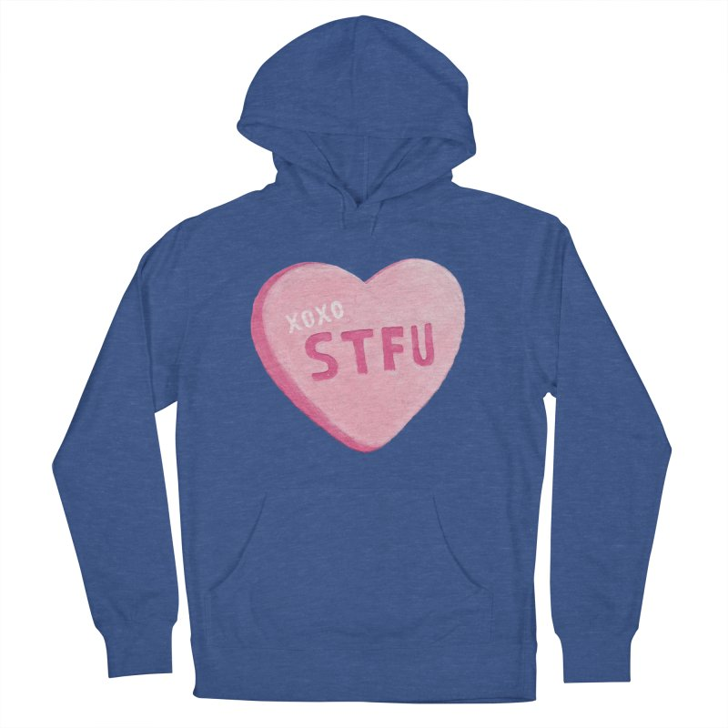 Sweetheart Women's Pullover Hoody by MidnightCoffee