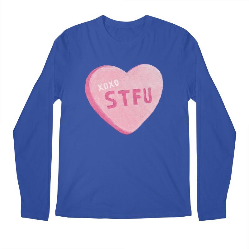Sweetheart Men's Longsleeve T-Shirt by MidnightCoffee