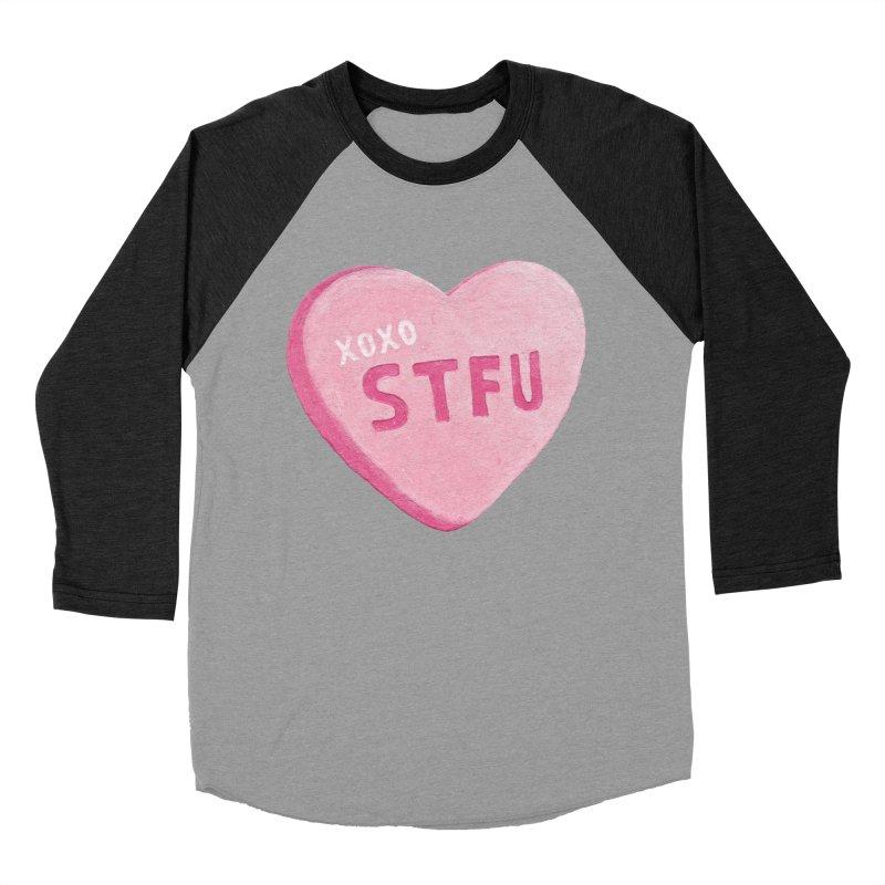 Sweetheart Women's Baseball Triblend T-Shirt by MidnightCoffee