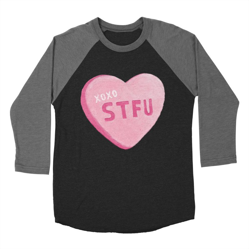 Sweetheart Men's Baseball Triblend T-Shirt by MidnightCoffee