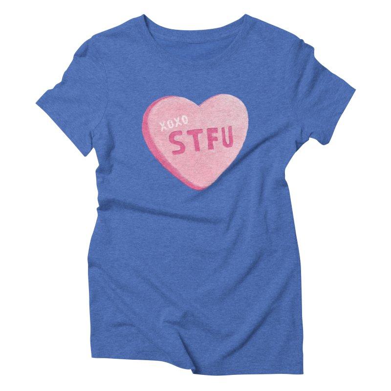 Sweetheart Women's Triblend T-shirt by MidnightCoffee