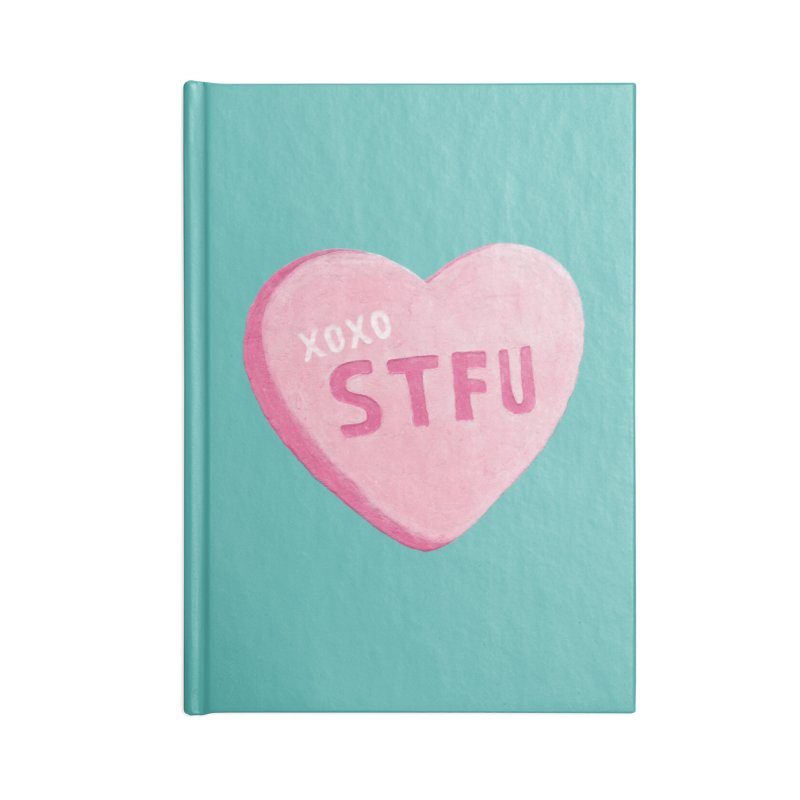 Sweetheart Accessories Notebook by MidnightCoffee