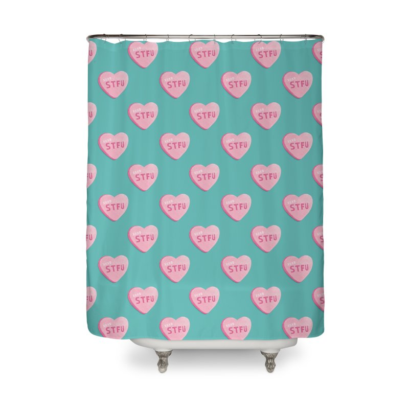 Sweetheart Home Shower Curtain by MidnightCoffee
